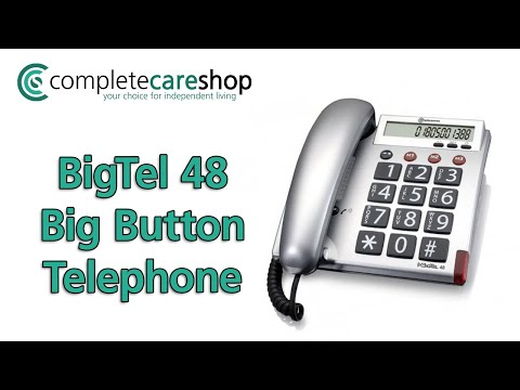 BigTel 48 Big Button Telephone - Stylish Yet Functional