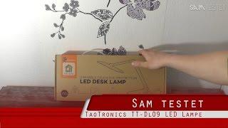 TaoTronics TT-DL09 [HD] Deutsch Schreibtischlampe Tageslichtlampe