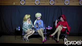 Roscoe's RPDR S11 Finale Viewing Party with Trixie Mattel & Alyssa Edwards!