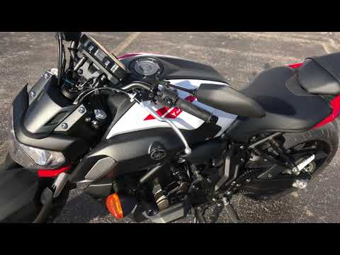 2018 Yamaha MT-07 in Coloma, Michigan