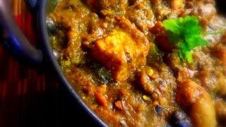 Mushroom Paneer Kadai Curry Recipe