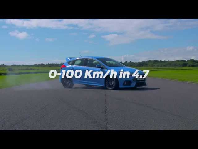 All-new Ford Focus RS: 0-100 km/h in 4.7 seconds