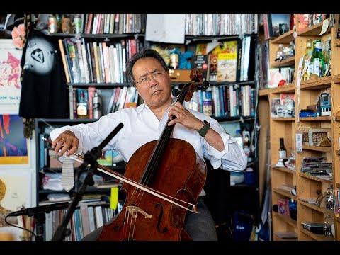 Yo-Yo Ma Performing 3 Great Bach Pieces