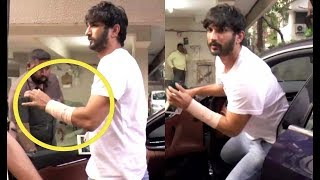 Sushant Singh Rajput Injured While Visiting Director Abhishek Kapur Office
