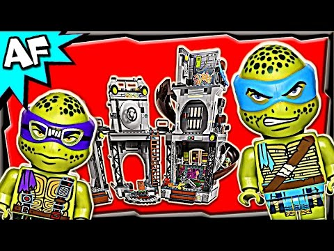 Vidéo LEGO Tortues Ninja 79117 : L'invasion du repaire des tortues