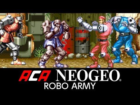 ACA NEOGEO ROBO ARMY thumbnail