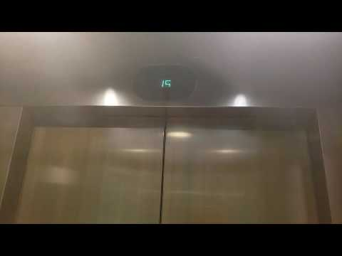 AMAZING Otis Vanity Elevonic 401 Traction Elevators at JW Marriott Union Square - San Francisco CA