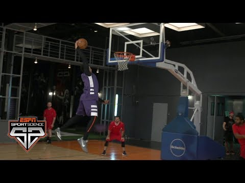 Even a pro dodgeball team can't stop Markelle Fultz | Sport Science