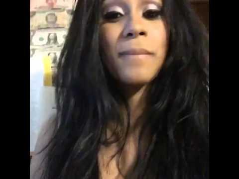 "Cardi B sings ""Champion Boy"",by  Alkaline"