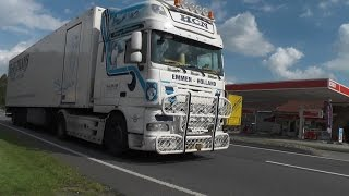 preview picture of video 'TRUCKS @ HASELÜNNE Film-/Fotomix SCANIA V8/DAF SOUND extreme! [HD]'