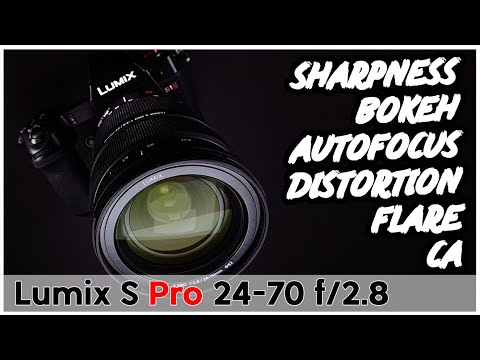 External Review Video 3uoFxpA1Ac8 for Panasonic Lumix S Pro 24-70mm F2.8 Lens (S-E2470)