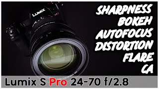 Panasonic Lumix S Pro 24-70 f/2.8 Hands-On Review