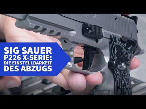 sig-sauer: Teil 2: Exklusive Videoreihe zu den Pistolen der SIG Sauer P226 X-Serie − Hier sehen Sie die verfügbaren Abzüge und deren Einstellmöglichkeiten