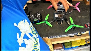"Building & Flying 1st 5"" FPV Quadcopter! Stingy V2 Forged Carbon SP Racing H7 Extreme & T-Motor ESC!"