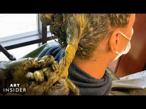 Using Henna Powder as Hair Coloring