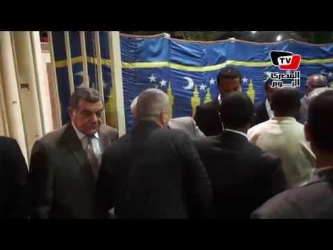 عزاء طه بصري بحضور نجوم الرياضة المصرية