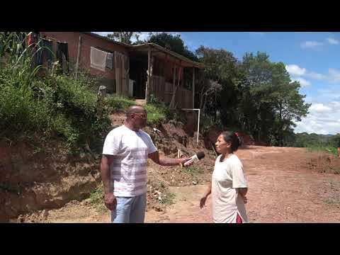Dona Maria foi a busca de providencias a respeito da terraplenagem que pois em risco sua Casa.