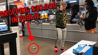 DROPPING $30,000 IN PUBLIC!!