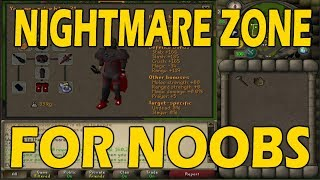 [OSRS] NIGHTMARE ZONE For Noobs | First Time NMZ Guide