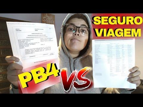 COMO TIRAR O PB4 E SEGURO VIAGEM PARA MORAR EM PORTUGAL EP. 29 Desafio 365 Dias