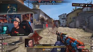 SUMMIT1G WATCHES: FaZe Vs Cloud9 MAJOR FINALS LAST MAP   MOST INTENSE GAME EVER?!   Best Moments