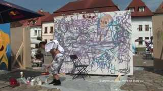 preview picture of video 'STREETARTové sympózium mesta Bardejov 2'
