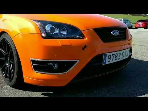 Ford Focus St MK2 Orange Racing