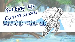 Learning with Bin - Setting up Commissions Tutorial
