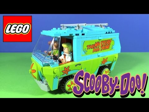 Vidéo LEGO Scooby-doo 75902 : La machine mystérieuse