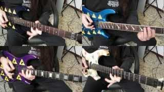 Guitar videos - DANIELE LIVERANI - Morning Grace (4 voices inv.) HD