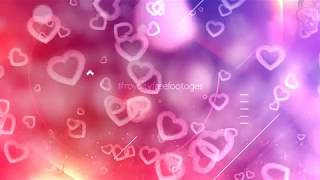 moving hearts background | Romantic hearts background | love motion background hd | #valentinesday