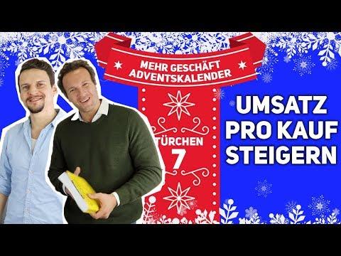 , title : 'UMSATZ PRO KAUF STEIGERN | Türchen 7'