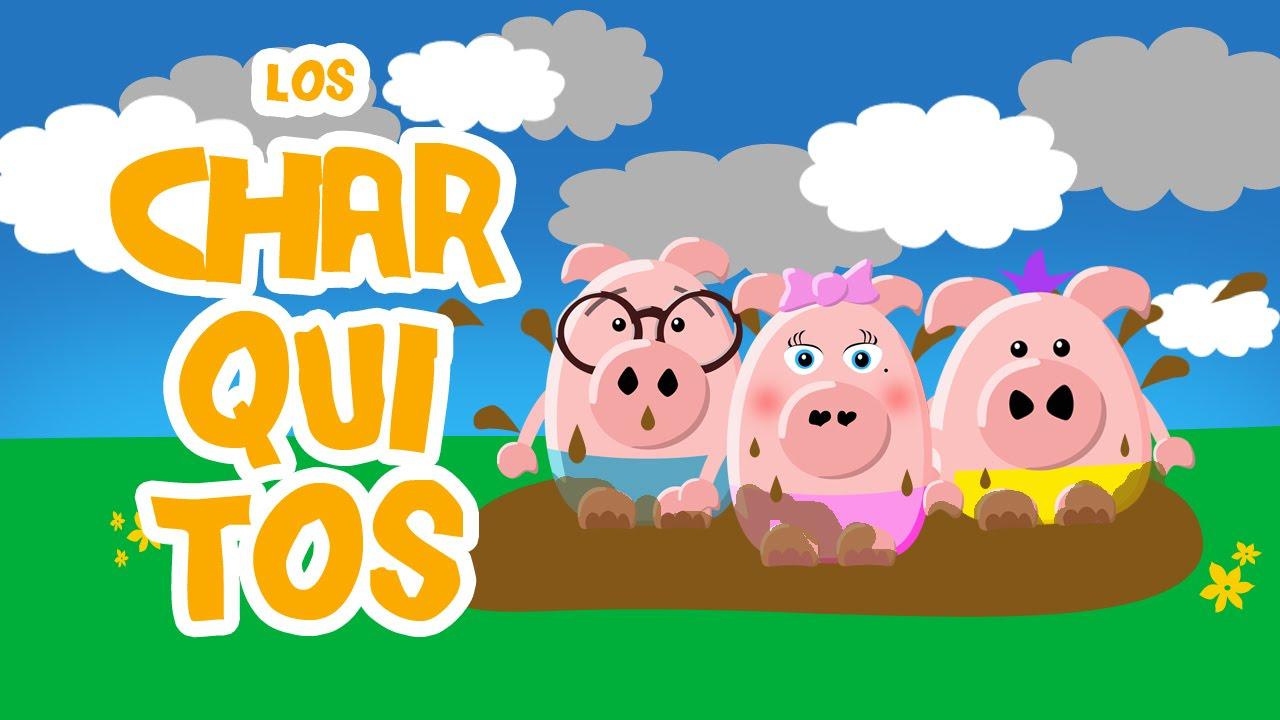 """LOS CHARQUITOS. Del show """"Los Tres Cerditos"""" DUBBI KIDS. Música para niños y grandes"""