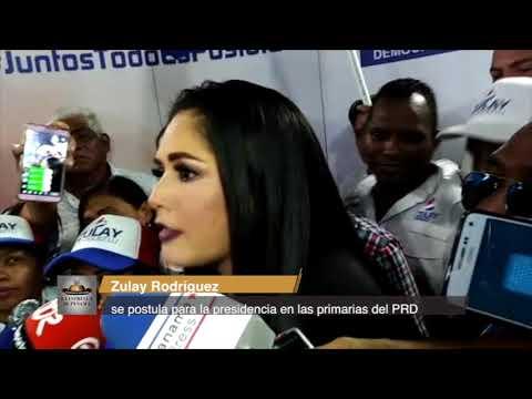 Zulay Rodríguez se postula para la presidencia en las primarias del PRD