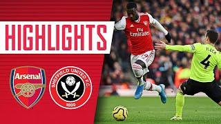 HIGHLIGHTS | Arsenal 1-1 Sheffield United | Premier League
