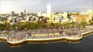 preview picture of video 'DJI Drone Inspire 1 TokoPDA.com - City of Makassar'