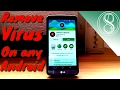 How to remove virus on Android 3 ways