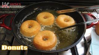 Donut - Homemade Donuts Recipe (Doughnut) - Simple Donuts Recipe
