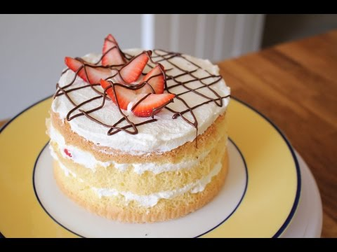Video 3 Ingredient Sponge Cake Recipe | sweetco0kiepie