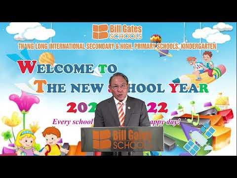 Trường THCS&THPT Quốc tế Thăng Long chào mừng năm học mới 2021-2022