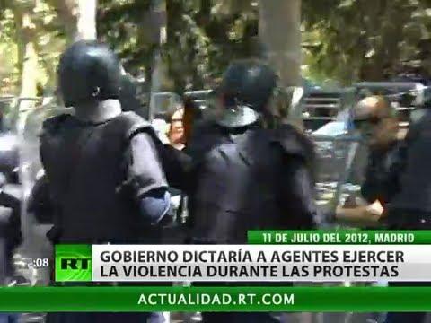 La violencia policial se arraiga en España