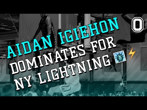 Aidan Igiehon Is A BEAST From BROOKYLN! Nike EYBL Highlights!