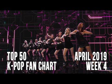 Top 50 K-Pop Songs Chart - April 2019 Week 4 Fan Chart