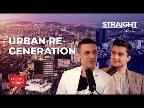 Urban Regeneration zones in Istanbul