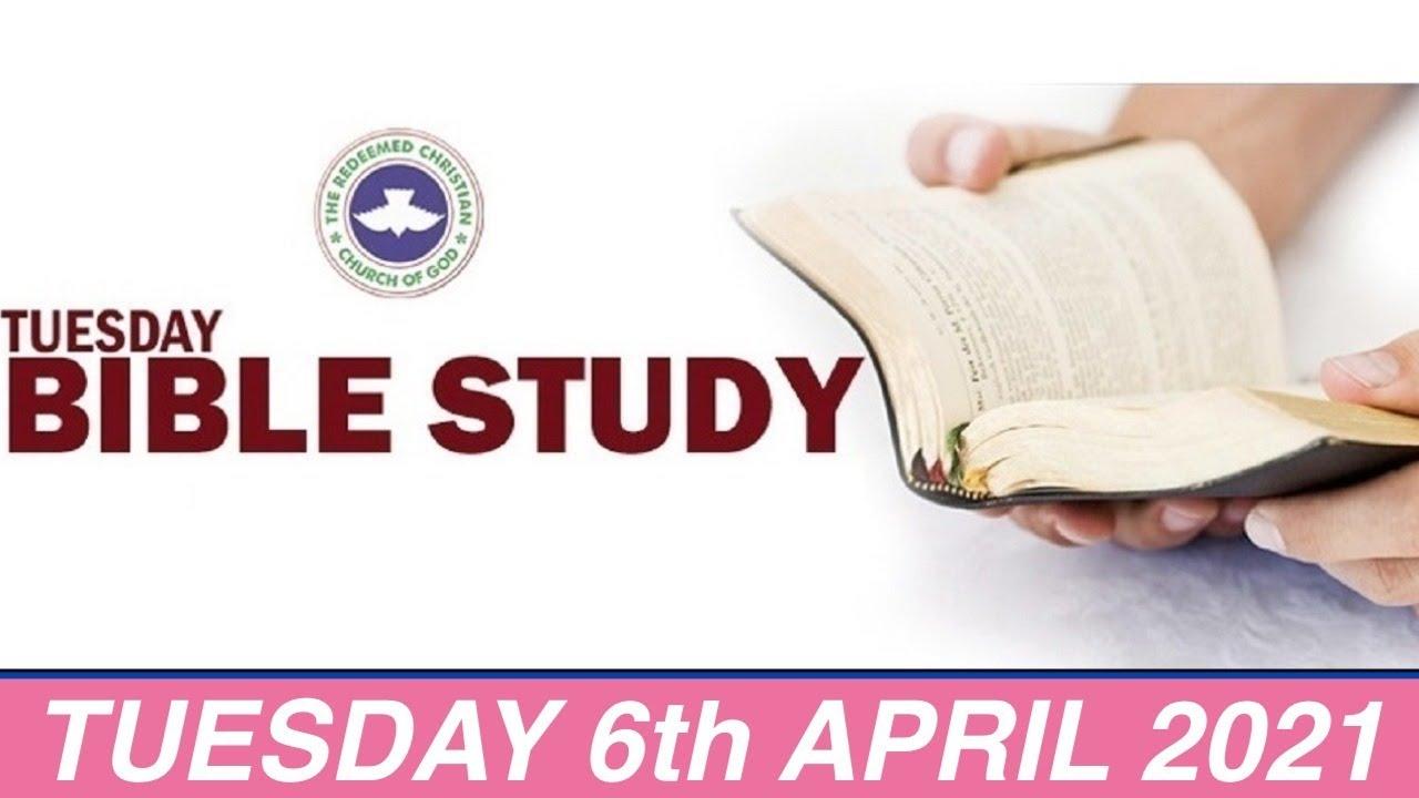 RCCG Bible Study 6 April 2021 Livestream