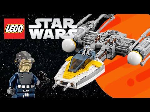 Vidéo LEGO Star Wars 75172 : Y-Wing Starfighter