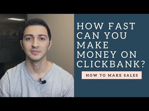 Clickbank Affiliate Marketing Training – How Fast Can You Make Money on Clickbank?