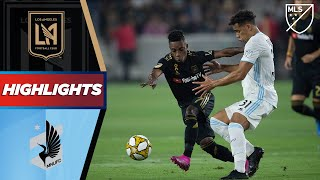 LAFC vs. Minnesota United FC   HIGHLIGHTS - September 1, 2019