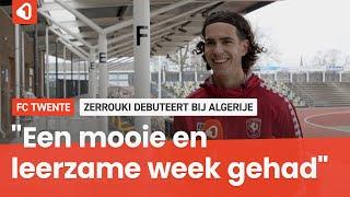Zerrouki trots na debuut bij Algerije, maar de knop is alweer om naar Vitesse