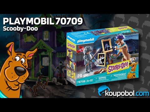 Vidéo PLAYMOBIL Scooby-Doo! 70709 : Scooby-Doo avec chevalier noir